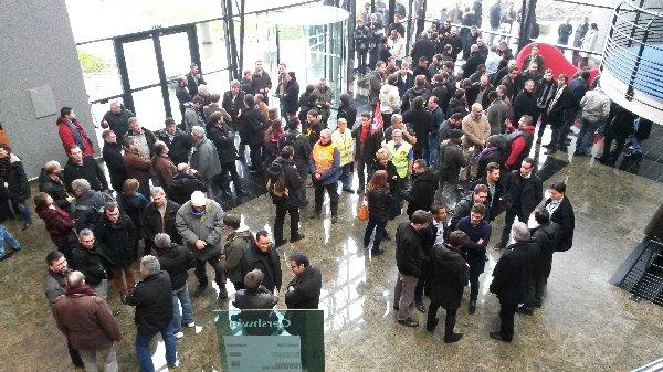 Grève - AKKA - Guyancourt-Gershwin - 14 février 2014